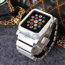 New Stainless Steel Watch Band Link Bracelet Strap for Apple Watch iWatch 38MM