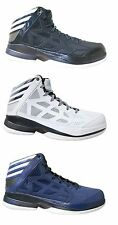 New Adidas Crazy Shadow Mens Basketball Shoes Various Sizes White / Navy / Black