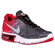 Nike Air Max Sequent - Men's Running Shoes (BK/University RD/Cool GY/Metallic C