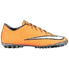 Nike Mercurial Victory V TF - Men's Soccer Shoes (Bright Mango/Hyper Turquoise/
