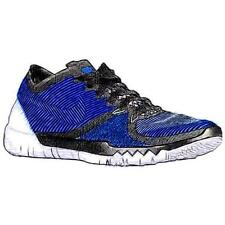 Nike Free Trainer 3.0 V4 - Men's Training Shoes (BK/WT/Racer BL Width:Medium)