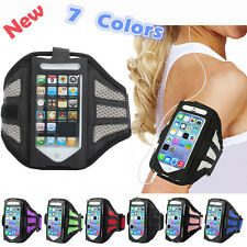 Outdoor Gym Sport Running Adjustable Armband Case Cover Holder For iPhone 4s/5s