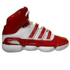 adidas Men's TS Supernatural Commander Basketball Shoes Size 17 White / Red
