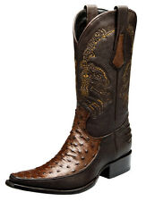 Urban Western Boots  Ostrich made by Cuadra Boots 1B15A1
