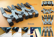 4mm Leather Craft Stitching Hand Chisel Pliers Pricking Iron Nippers 1/2/4 Prong