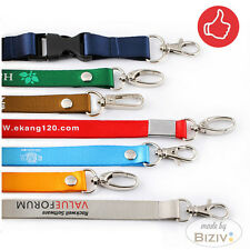 Custom Lanyards Personalised Printed Your LOGO & ID / Neck Lanyards Personalized