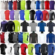 Men's Compression Base Layer T-shirt Tank Tops Vest Thermal Athletic Sport Wear
