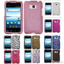 For LG VM696/LS696(Optimus Elite) Case Cover Bling Rhinestones Diamond