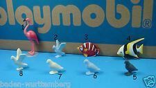 Playmobil zoo flamingo dove fish animal mini diorama toy Geobra PICK one 123