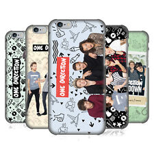 OFFICIAL ONE DIRECTION GROUP PHOTO DOODLE ICON BACK CASE FOR APPLE iPHONE PHONES