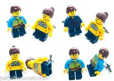 CHOOSE YOUR PAIR - GENUINE LEGO FIGURE CUFFLINKS Funky & Cool Birthday Gift Set