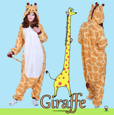New Giraffe Kigurumi Pajamas Anime Cosplay Costume Unisex Adult Onesie Sleepwear