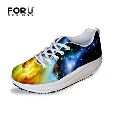 Galaxy New Womens Shape Ups Toning Fitness Walking Shoes Platform Sneakers Shoes