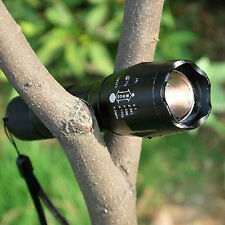 Hot 5000lm XML T6 LED Adjustable Focus Zoom Flashlight Torch Light  26650/18650