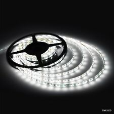 LED Flexible Strip Light Waterproof IP20 Lamp 3528 SMD 5M 300 LEDs DC 12V White