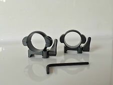 G.P.I Tactical 30mm QRW Quick Release Weaver Scope Mount Rings Shooing/Hunting