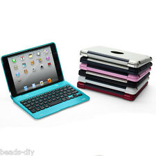 BD Foldable Wireless Bluetooth Keyboard Case Cover With Stand For iPad Mini 1 2