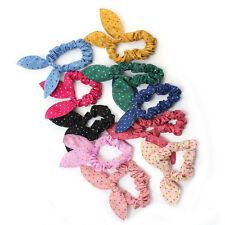 10x Rabbit Ears Headband Hair Accessories Multi-Color Fabric/Elastic 3SE