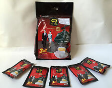 Trung Nguyen G7 coffee individual sachets 3 in 1 just add hot water