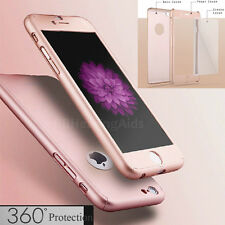 Luxury Hybrid Tempered Glass + Acrylic Hard Case Cover For iPhone 6 & 6S Plus