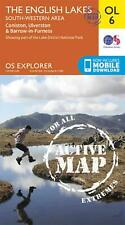 English Lakes - South-Western Area, Coniston, Ulverston & Ba by Ordnance Survey
