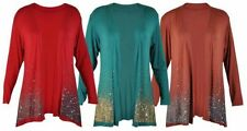 NEW LADIES SEQUIN GLITTER CARDIGAN WOMENS LONG SLEEVED OPEN WRAP TOP SIZE 12-26