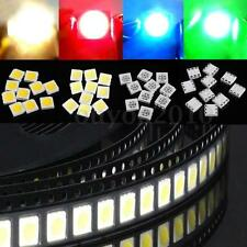 5050 SMD SMT 5x5mm PLCC-6 3-CHIPS White Red Yellow Blue Green LED Light 0.2W DIY