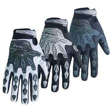 Reflective Cycling Gloves Padded Full Finger Mountain Bike Mittens Protectiom