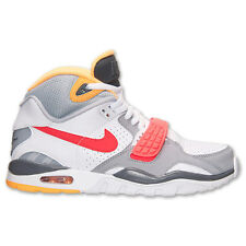 New Nike Men's Air Trainer SC II Shoes (443575-107)  White/Laser Crimson/Grey