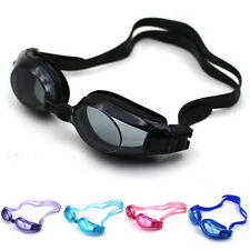 Top Adjustable Eye Protect Non-Fogging Anti UV Swimming Goggle Glasses Adults