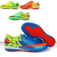 Kids Soccer Shoes Indoor TF Turf Soccer Cleats Football Training Sports Shoes