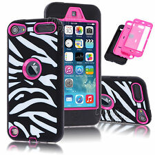 Shockproof For Apple iPod Touch 5th 6th Gen Protective Hard Soft Cover Skin Case