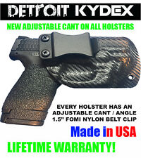 Custom Concealment IWB Kydex Holster All Gun Models & Lasers + Adjustable Cant