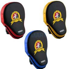 PU Leather Focus Pad MMA Boxing Muay Thai Taekwondo Kick Shield Punch Glove Mitt