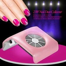 Nail Dust Suction Collector Fingernail Dirt Collection Machine & 3 Bags Hot A2Q2