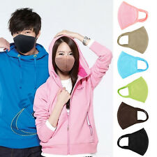 Simple Mens Women's Hygienic Cycling Anti-Dust Cotton Mouth Face Mask Respirator
