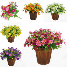 1 Bunch Silk Home Party Decoration Bouquet Fake Artificial Flower Daisy Wedding