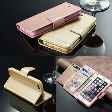 Luxury Magnetic Flip Stand Wallet Leather Case For Samsung Galaxy & Apple iPhone