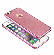 New ! Bling Glitter ShockProof Silicone Case Cover For Apple iPhone 6 6S Plus
