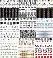 Classic Style Nail Decorations Stickers Hot Sale 2C Logo Nail Art Decals