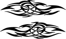Vehicle Tribal Flames Vinyl Decal Sticker Car Truck Boat Graphics Racing