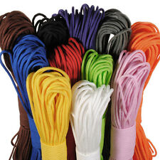 New 100 Ft 550 Paracord Parachute Cord Lanyard Spec Type Strand Core Rope