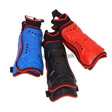 1 Pair Mens EVA Lined Shin Pads Ankle Guard Football Soccer Basketball Protector