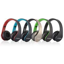 Foldable Wireless Bluetooth Stereo Headset Handsfree Headphone w/Mic MP3 FM Z4S2