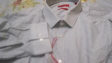 NWT HUGO BOSS SLIM DRESS SHIRT RED LABEL $125 HIGRADE LORD & TAYLOR SOFT COTTON