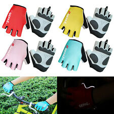 Bike Bicycle Cycling Riding Short Half Finger Gloves Anti-slip Sports Gloves New