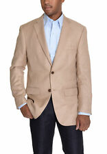Greg Norman For Tasso Elba Khaki Tan Textured Two Button Blazer Sportcoat
