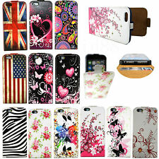 """Nice Flip Leather Skin Card Slots Phone Pouch Cover Case For Apple iPhone 6 4.7"""""""