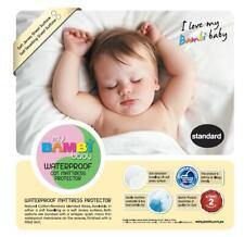 Bambi Baby Terry Towelling Waterproof Cot Mattress Protector