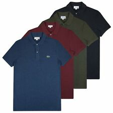 NEW LACOSTE POLO - LACOSTE SLIM FIT POLO - PH4012 - YELLOW/PURPLE/NAVY/PINK-BNWT